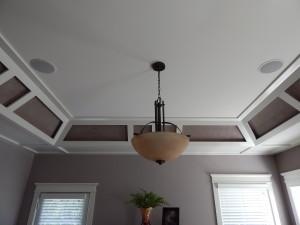 Master Bedroom- Lighting and Speakers