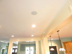 indoor lighting installation by Iddings Electric in berks county, pa