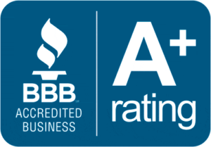 A BBB Accredited business with an A+ rating.